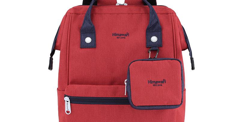 """Himawari Petunia 15"""" Laptop Backpack(2269)-Red/Navy"""