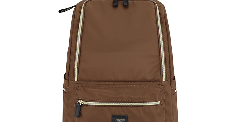 "Himawari Daffodil 14"" Laptop Backpack(1006)-Brown"