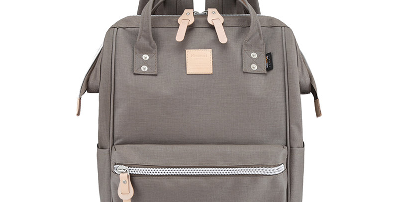 "Himawari Saffron 17"" Laptop Backpack(1882)-Gray"