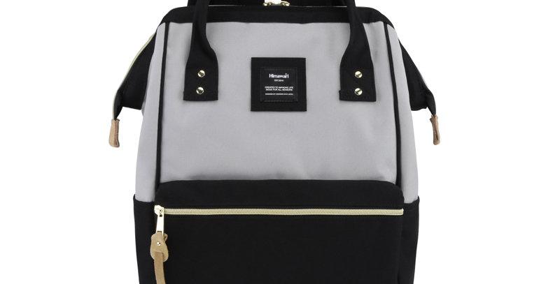 "Himawari Holly Daze 15"" Laptop Backpack(9001)- Black / Gray"