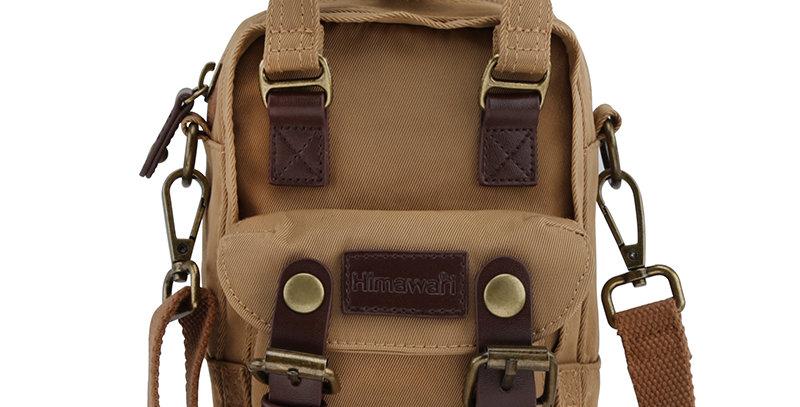 Himawari Buttercup Sling Bag(HM188XS-51)-Coffee Brown