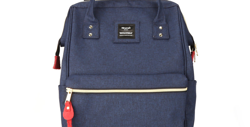 "Himawari Holly Daze 15"" Laptop Backpack(9001)- Dark Navy"