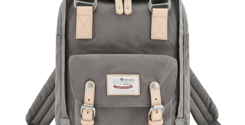 "Himawari Buttercup 14"" Laptop Backpack(HM188L-25A)-Gray"
