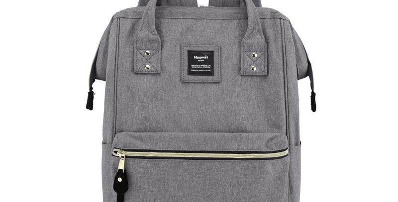 "Himawari Holly Daze 15"" Laptop Backpack(9001)- Stone Gray"