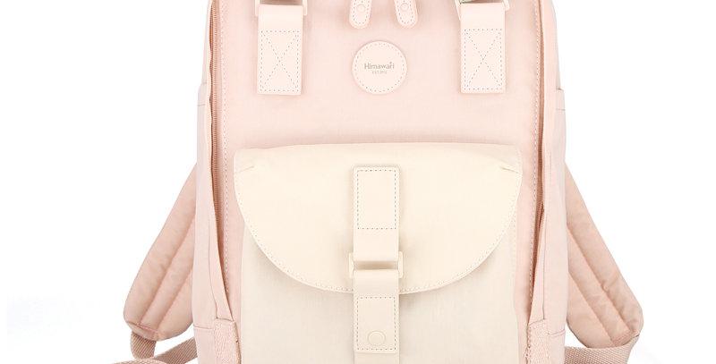 """Himawari Dianella 14"""" Laptop Backpack (200)-Nude/Pastel Pink"""