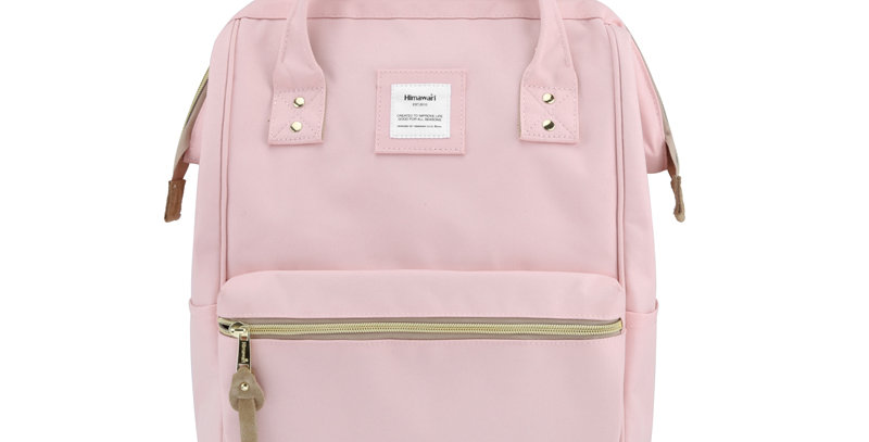 "Himawari Holly Daze 15"" Laptop Backpack(9001)- Pastel Pink"