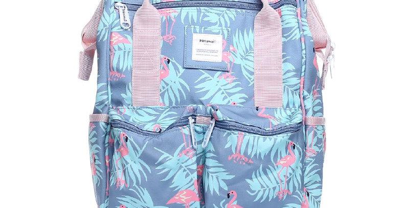 """Himawari Cypress 17"""" Laptop Backpack(0601)-Flamingo"""