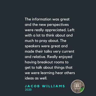 Testimonial - The 2020 Equipping Retreat