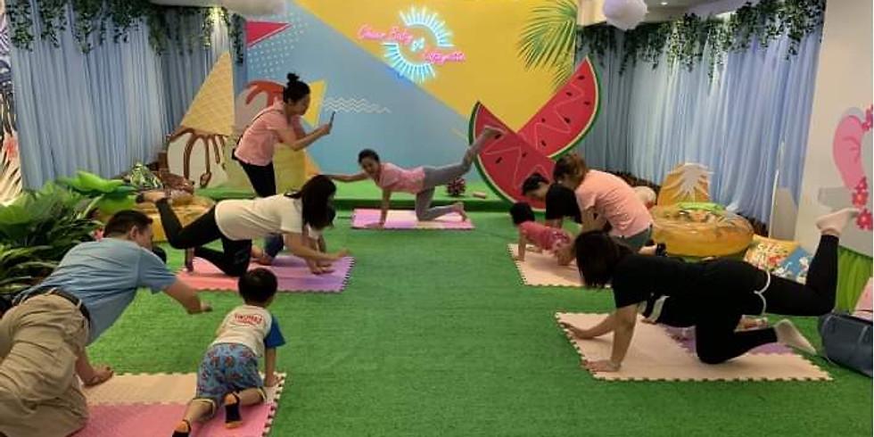 Wellbeing Kid×Donut Kids Club 聖誕限定親子瑜伽工作坊
