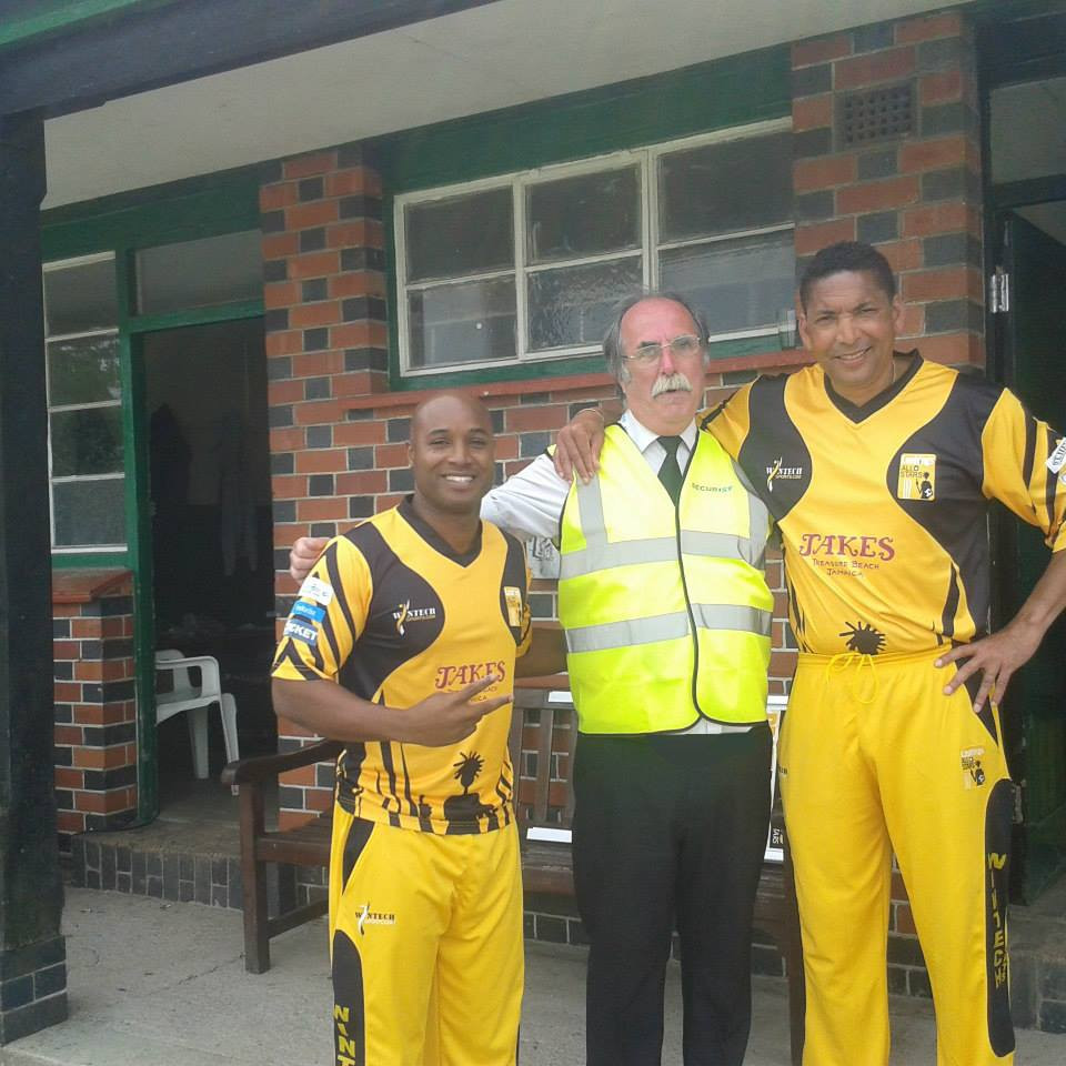 Our security officers with the Lashing All Stars