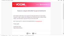 SECURIST VOOM fundraiser