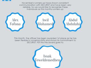 Monthly update November 2015