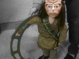 "See our Klingon puppet in ""Klingon Christmas Carol"""