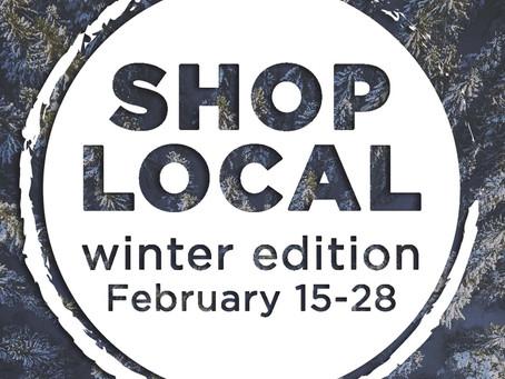Shop Local- Gift Card Winner Announced!