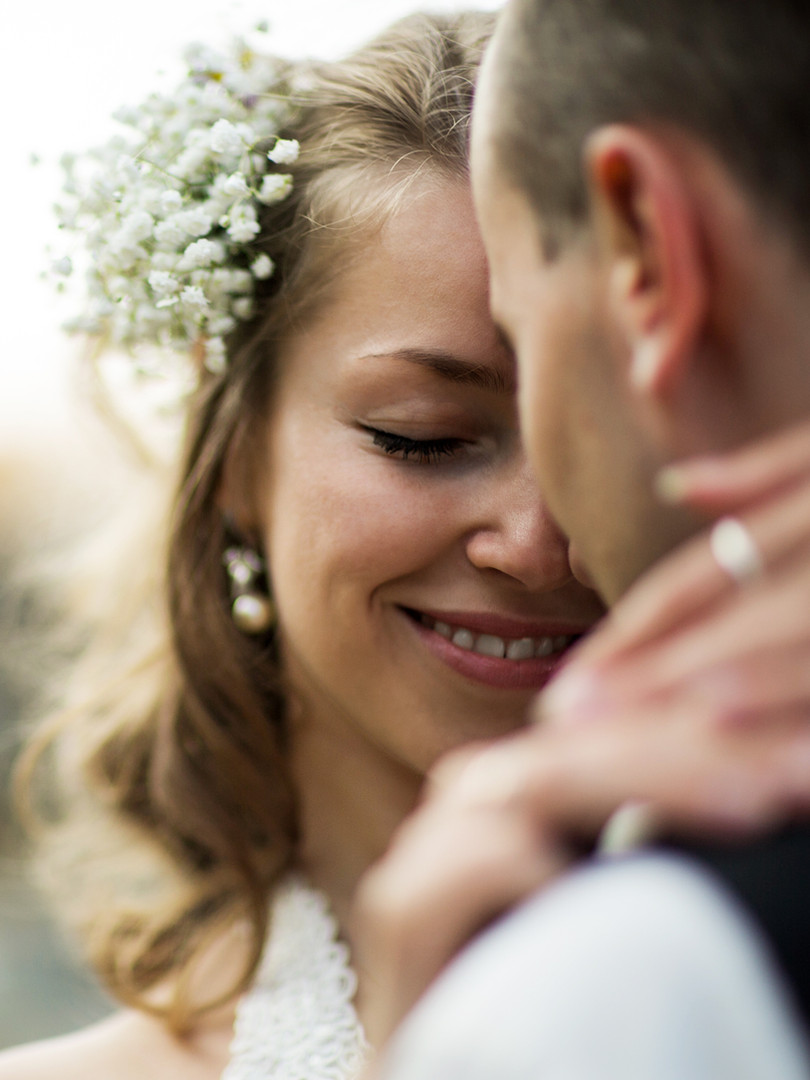 Shooting mariage dans le parc du Clos du Grand Val