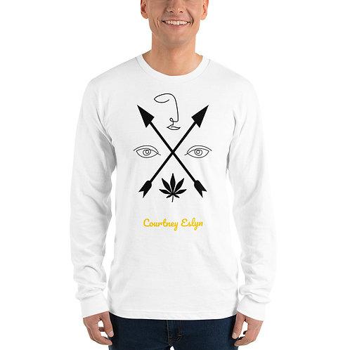 Courtney Eslyn Line Art Long sleeve t-shirt