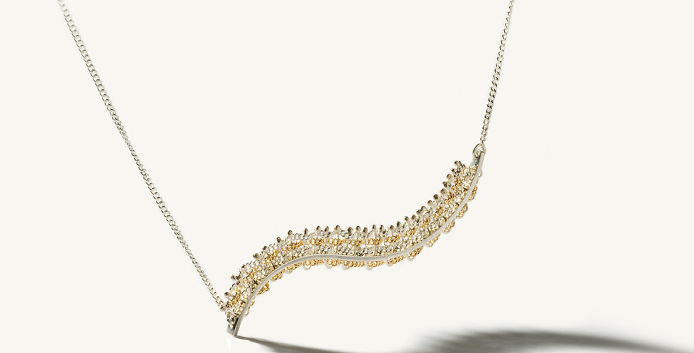 Draped necklace