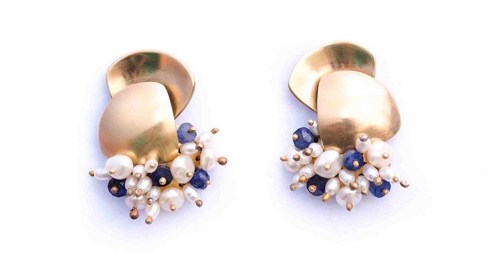 9ct Gold Ora Earrings