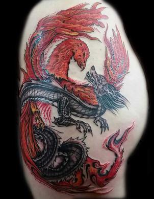 gallo_album_phoenix and dragon tattoo