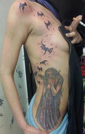 gallo_album_witchy woman tattoo