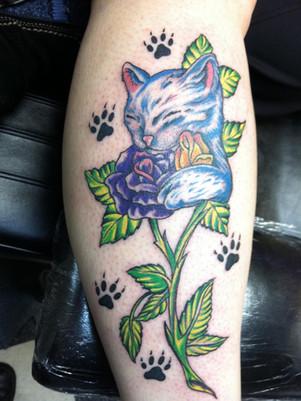 gallo_album_cute kitty cat tattoo