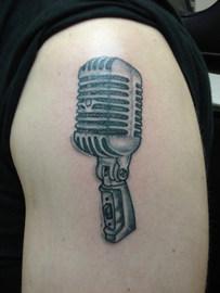 gallo_album_microphone tattoo
