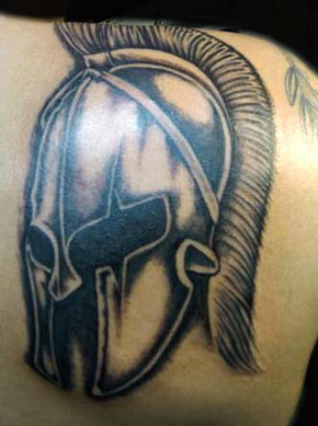 gallo_album_spartan helmet