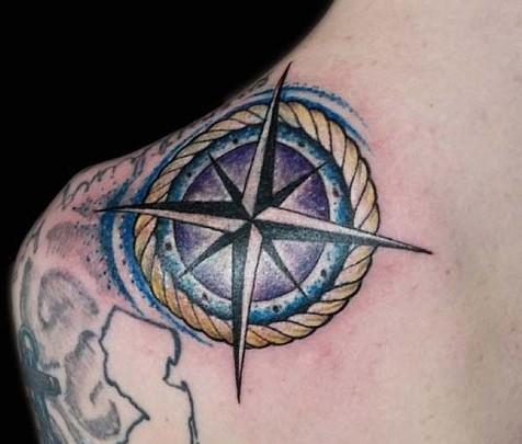 gallo_album_compass tattoo
