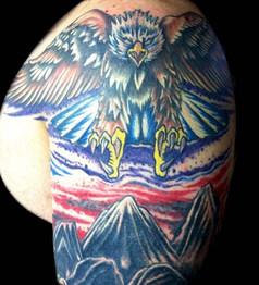 Gallo_Eagle Tattoo