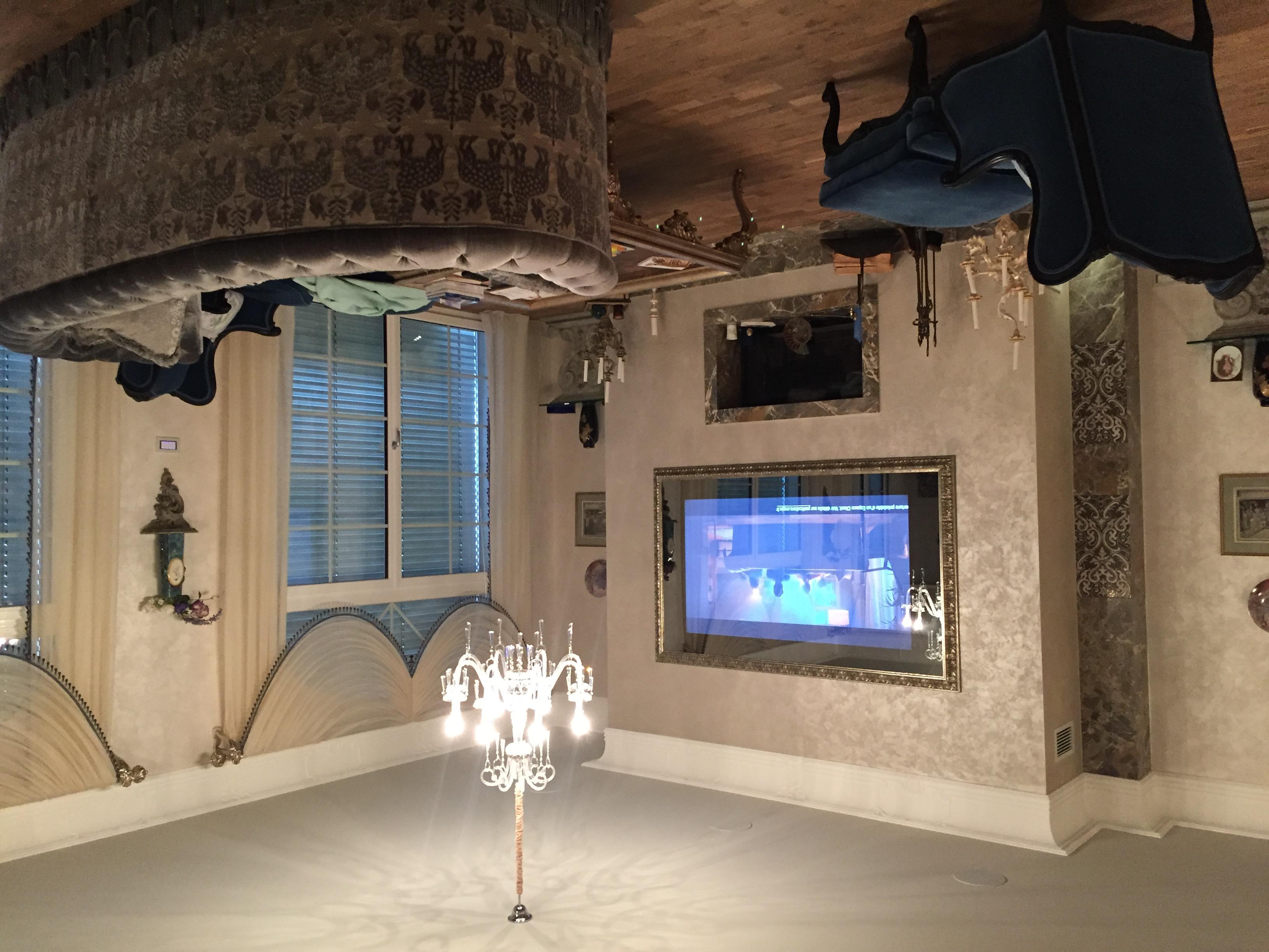 TV 75'' miroir sans teint
