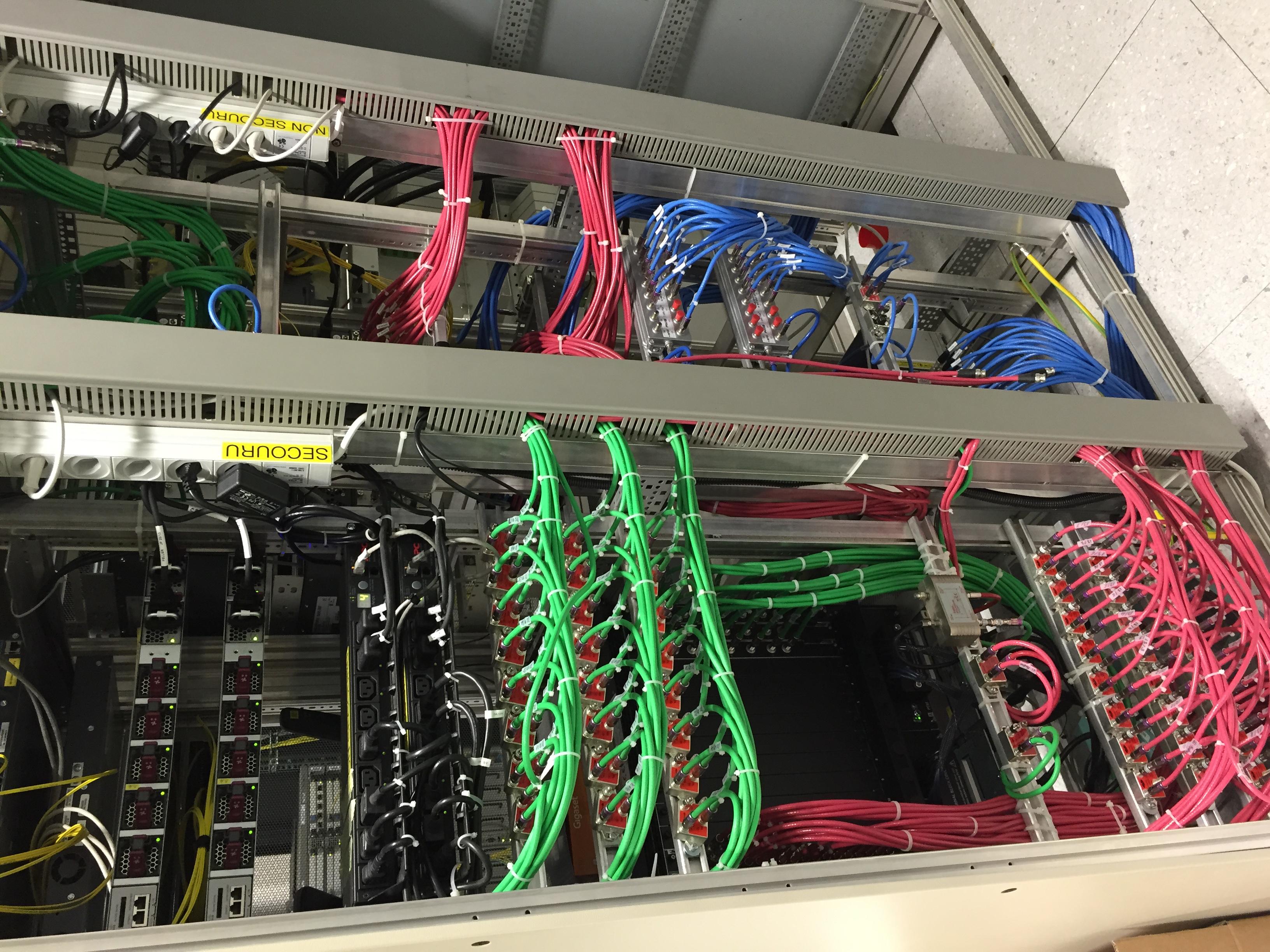 Câblage et installation HFC