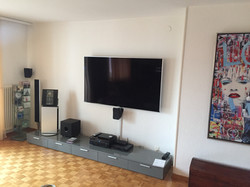 TV 75'' support fixe