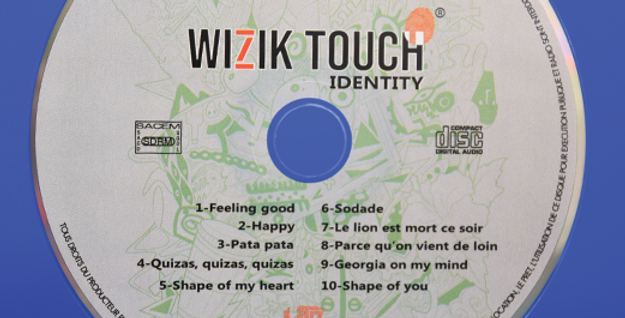 WIZIK TOUCH - Vol. 1 : Identity (CD)