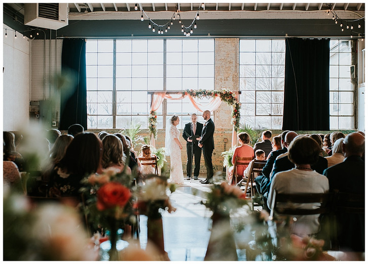 Carly + James Provo Wedding: The Bright Building