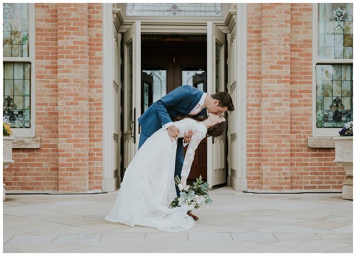 Josie & Tyler: Provo City Center Temple Wedding