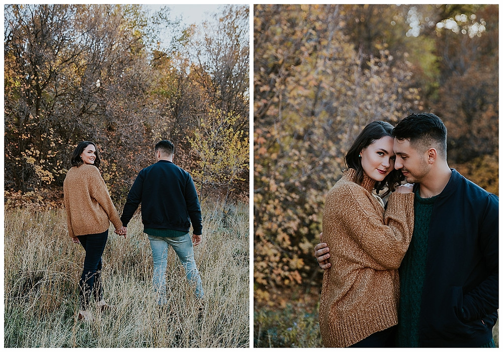 Big Cottonwood Canyon Engagement Photographer