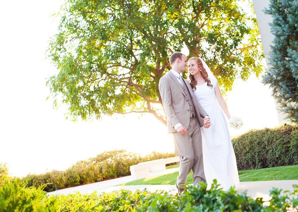 Bountiful Temple Wedding Photographer