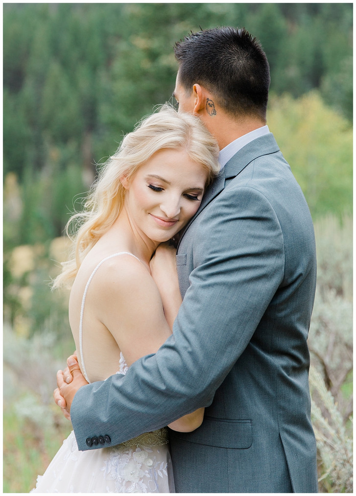 Allyson & David: Tibble Fork Bridals | Madison Larsen Photography