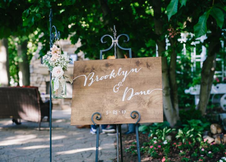 Brooklyn + Dane Wedding