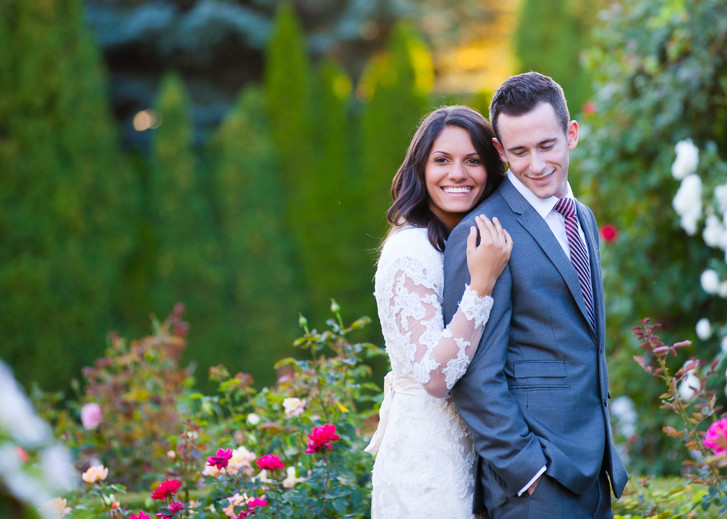 Utah Bridal Photographer: Thanksgiving Point Gardens