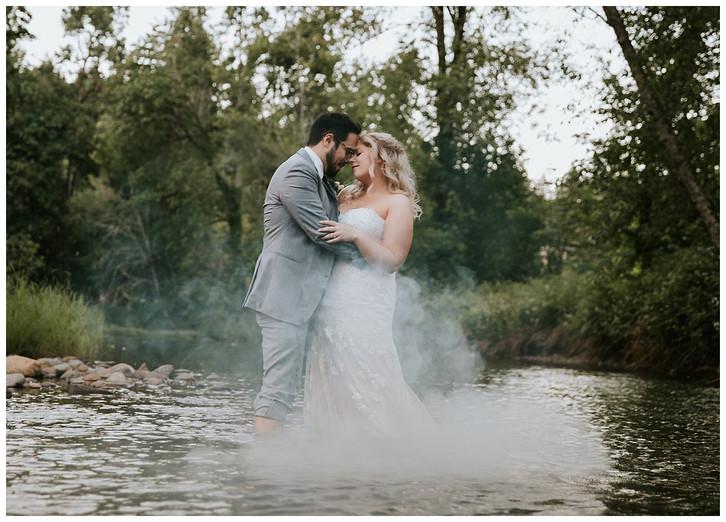 Oregon Backyard Wedding: Oregon Wedding Photographer