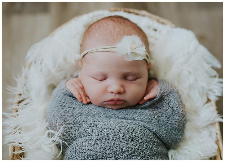 Baby M Newborn: Utah In-Home Newborn Photographer