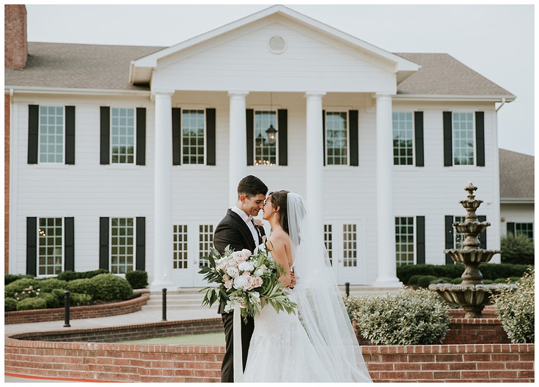 Lindsey & Phillipe Denton, TX | Milestone Mansion Wedding: Madison Larsen Photography