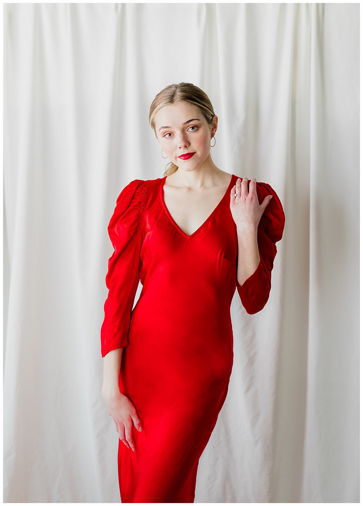 Lady in Red: Utah Portrait Photographer