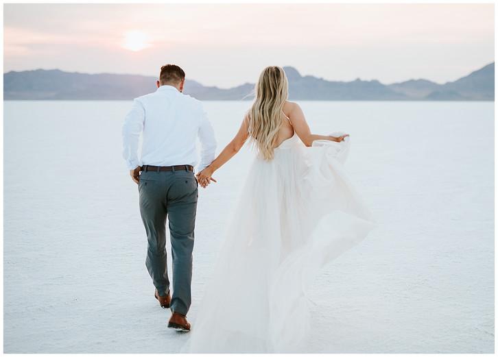Utah Photographer: Salt Flats Bridal and Formal Session