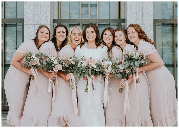 Madison Larsen Photography: Draper Temple Wedding and LouLand Falls Reception