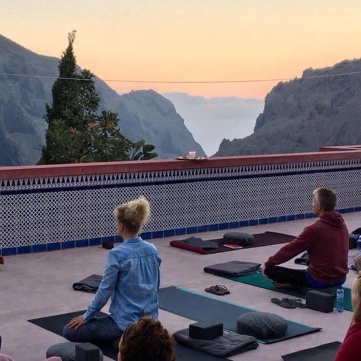 Yogaretreat på Mandala de Masca med Annaf och Malin