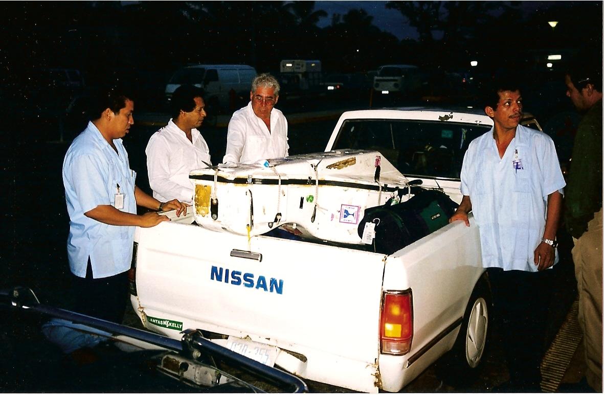 bass transport, Nicaragua, Nov 97