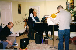 working with Sir John Tavener and Patricia Rosario