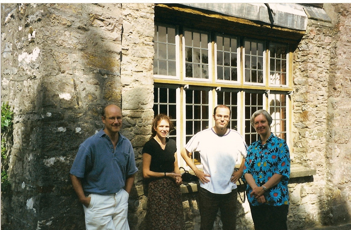with Judith Weir at Dartington Aug 99